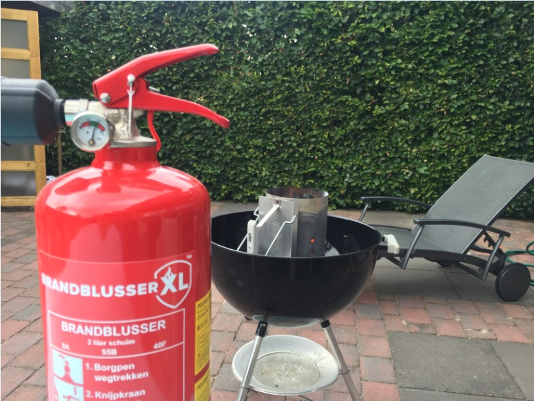 Barbecue brandblusser kopen